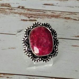 Ruby Artisan Ring